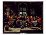 The Last Supper Giclee Print by Pieter Coecke van Aelst