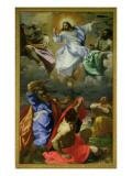 The Transfiguration, 1594-95 Giclée-tryk af Ludovico Carracci