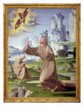St. Francis Receiving the Stigmata Reproduction procédé giclée par Pietro Francione