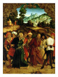 Arrest of St. Peter and St. Paul, Polyptych Depicting Scenes from the Lives of Ss. Peter and Paul Giclee Print by Hans Suess Kulmbach