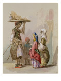 Pot Seller, c.1855 Giclee Print by Amadeo Preziosi