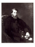 Portrait of Alfred Bruyas Giclee Print by Eugene Delacroix