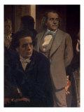 Anton Grigoryevich Rubinstein Giclee Print by Ilya Efimovich Repin