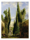 Villa D'Este, Tivoli Giclee Print by William Collins
