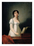 Portrait of Angelica Catalani Giclee Print by Elisabeth Louise Vigee-LeBrun
