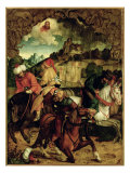 The Conversion of St. Paul, from a Polyptych Depicting Scenes from the Lives of Ss. Peter and Paul Giclee Print by Hans Suess Kulmbach