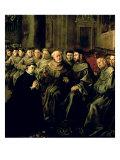 Welcoming St. Bonaventure Giclee Print by Francisco Herrera