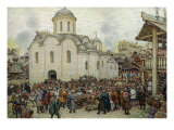The Defence of the Town, 1918 Giclee Print by Apollinari Mikhailovich Vasnetsov