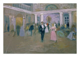 Ball at Larins, an Illustration For Eugene Onegin, by Alexander Pushkin Giclee Print by Alexei Steipanovitch Stepanov