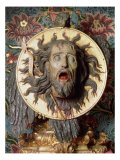 Head of John the Baptist Giclee Print