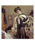 Portrait of Henrietta Hirshmann Giclee Print by Valentin Aleksandrovich Serov