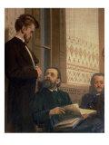 Eduard Frantsovitch Napravnik Giclee Print by Ilya Efimovich Repin