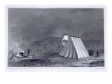 Encampment in Browell Cove, c.1826 Giclee Print by E.n. Kendall