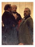 Vladimir Odoevsky Giclee Print by Ilya Efimovich Repin