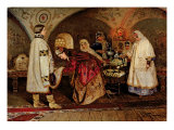 Tsar Alexei Mikhailovich Giclee Print by Mikhail Vasilievich Nesterov