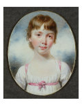 Miniature of a Young Girl Giclee Print by William Marshall Craig
