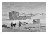 Eskimo House, Igloolik, c.1822 Giclee Print by Captain George Francis Lyon