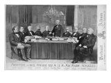 The Ministry of 1875, Presided over by Marshal Edme Patrice Maurice Mac-Mahon Giclee Print by Eugene Appert