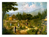 Gardening in Switzerland Reproduction proc&#233;d&#233; gicl&#233;e par Bernhard Frohlich
