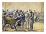 The Jury of the Paris Conservatoire, c. 1871 Giclee Print by R. Fenwick