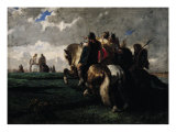 The Barbarians Before Rome Giclee Print by Evariste Vital Luminais