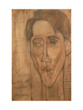 Portrait of Jean Cocteau Giclee Print by Amedeo Modigliani