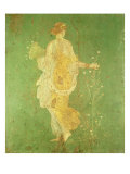Spring, Maiden Gathering Flowers, from the Villa of Varano in Stabiae, c.15 BC-60 Ad Giclee Print by  Roman
