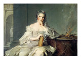 Madame Anne-Henriette de France Giclee Print by Jean-Marc Nattier