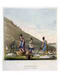 Washerwomen, Edinburgh, c.1825 Giclee Print by Michael Egerton