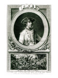 Portrait of Louis, Chevalier D&#39;Assas Giclee Print by The Younger Dupin