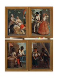 Four Different Racial Groups Giclee Print by Andres De Islas