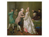 The Betrothal, 1774 Giclee Print by Jacobus Buys