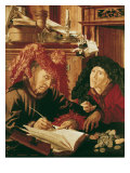 Two Tax Gatherers, c.1540 Giclee Print by Marinus Van Reymerswaele