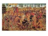 Battle Between Darius Giclee Print