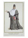 Antoine Arnauld Giclee Print by Pierre Duflos