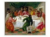 The Last Supper, 1567-70 Giclee Print by El Greco