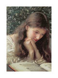 Idle Tears Giclee Print by Edward Robert Hughes