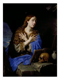 The Penitent Magdalene, 1657 Giclee Print by Philippe De Champaigne