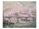 Ile de La Cite, Paris, 1912 Giclee Print by Paul Signac