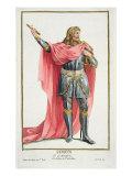 Simon de Montfort Giclee Print by Pierre Duflos