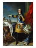 Portrait of Louis XV Giclee Print by Jean-Baptiste van Loo