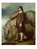 Portrait of John Walter Tempest Giclee Print by George Romney
