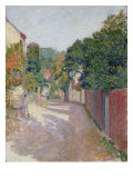 Village Lane Giclee Print by Spencer Frederick Gore