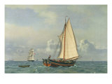 The Sea, 1831 Giclee Print by Christoffer-wilhelm Eckersberg