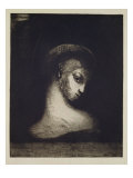 Female Head Giclee Print by Odilon Redon