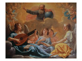 Concert of Angels Giclee Print by Philippe De Champaigne