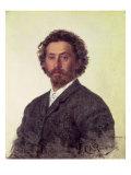 Self Portrait, 1887 Giclee Print by Ilya Efimovich Repin