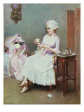 Hot Chocolate Giclee Print by Raimundo De Madrazo Y Garetta