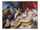 Venus and Pan Giclee Print by Jan Brueghel the Elder