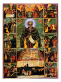 St. John of Rila Giclee Print by Master John Of Samakov 